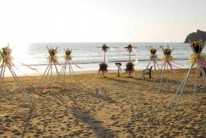 Chda Wedding on the beach