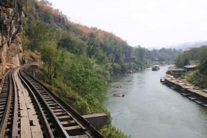 Death Railway Train_2, Kanchanaburi